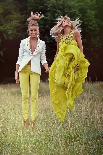 chartreuse chic