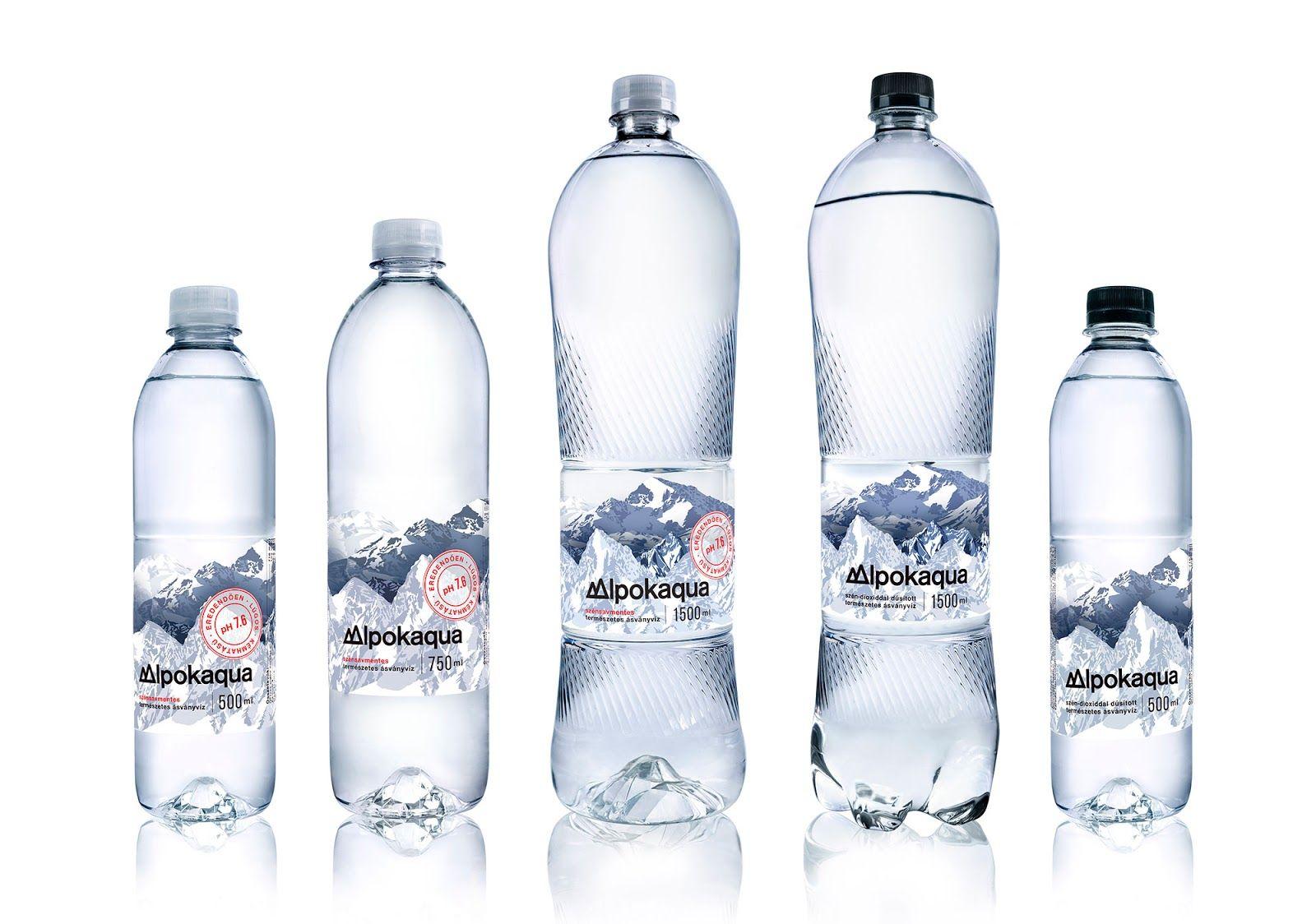 Alpokaqua Dizajn Etiketki Dizajn Upakovki Mineralnaya Voda