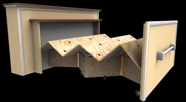 1 Pull out murphy bed   Camas, Camas plegables y Muebles innovadores