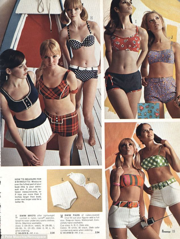 819a11b670 Boy shorts, bathing caps and no visible bikini lines: The hottest ...