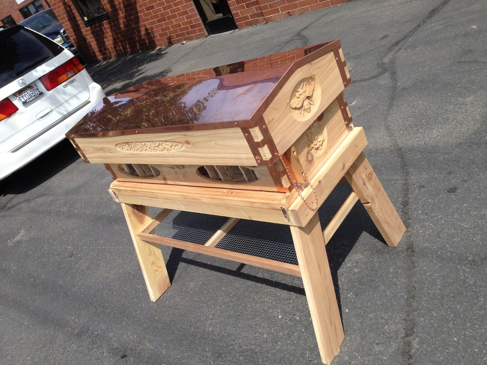 top bar beehives - Google Search