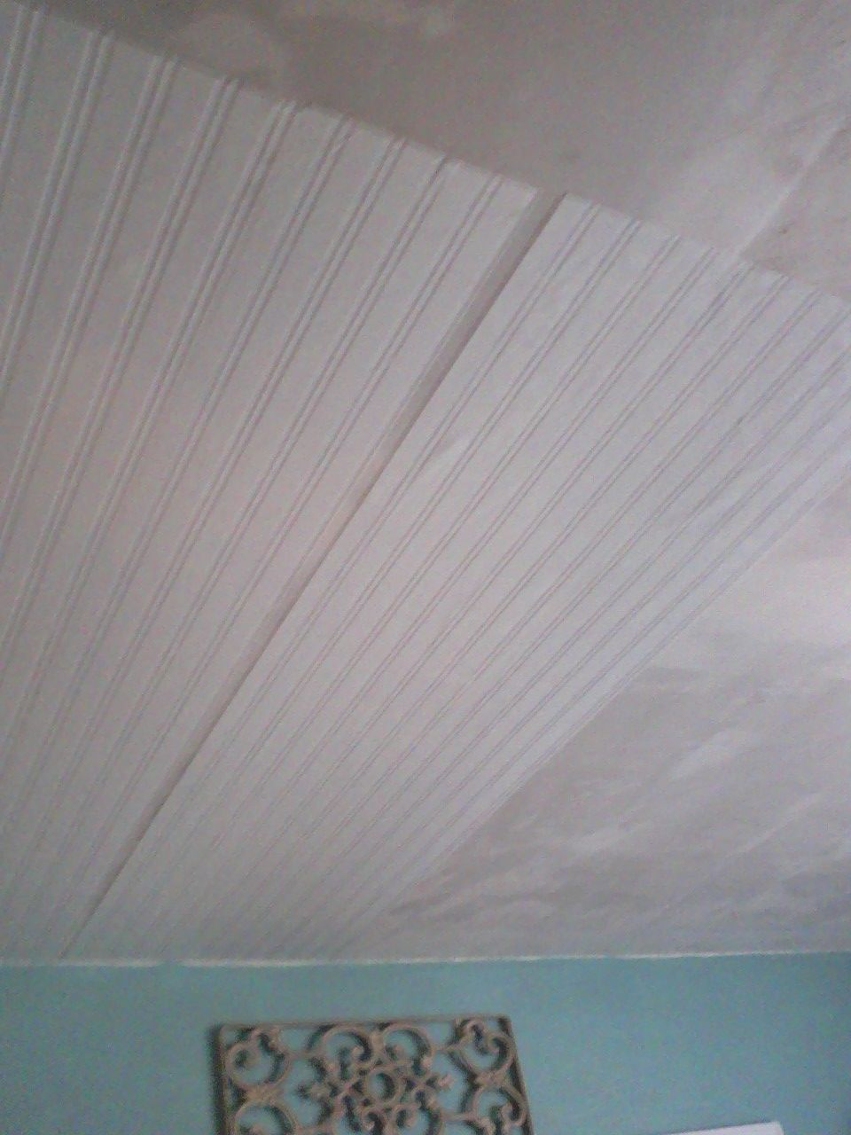 Beadboard Ceiling Not Only Would It Be Easier And