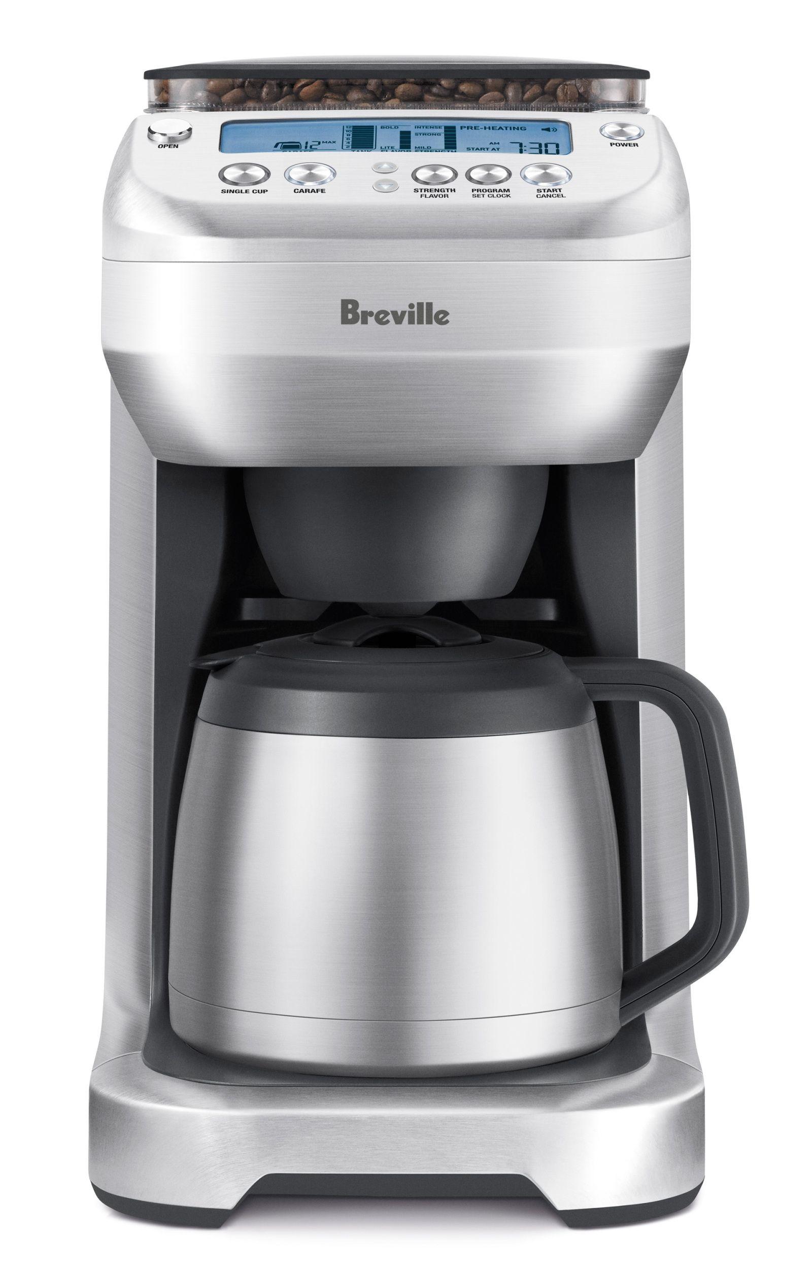 Breville YouBrew Carafe Coffee, espresso maker, Single