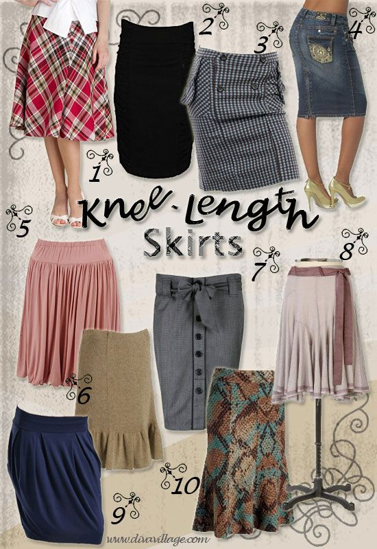 From mini skirts for going out to pencil skirts for work, we have ...