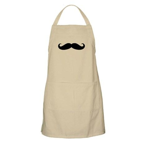 39b128f9f4719 Movember Moustache Apron on CafePress.com with ITS a me Mario