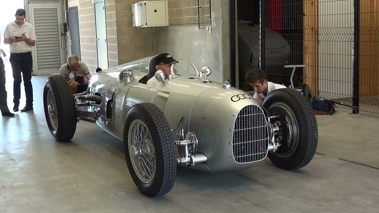 auto union grand prix racing car type c 1936 v16 start up and revs grand prix racing racing car design car pinterest