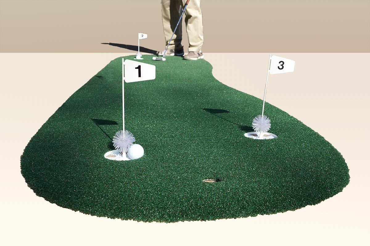 3 x 9 3hole pro backyard or indoor putting green made