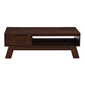 Amazon.com Modus Furniture 7Z4821 Portland Coffee Table Medium Walnut Kitchen u0026  sc 1 th 225 & Amazon.com: Modus Furniture 7Z4821 Portland Coffee Table Medium ...