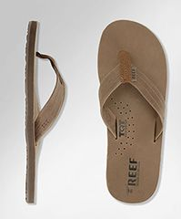 55657f4e0 Sandals · Reef Men s Draftsman in chocolate. Rainbow ...