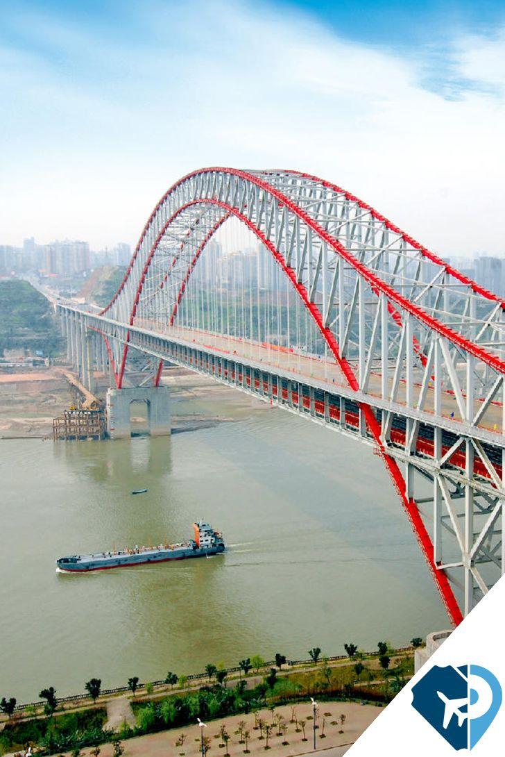 Puente chaotianmen el puente en arco m s largo del mundo - Vano arquitectura ...