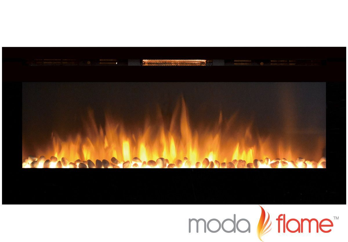 Features Pro Collection 4 Settings Of High Low And No Heat Only Recessed Electric Fireplace Built In Electric Fireplace Wall Mount Electric Fireplace