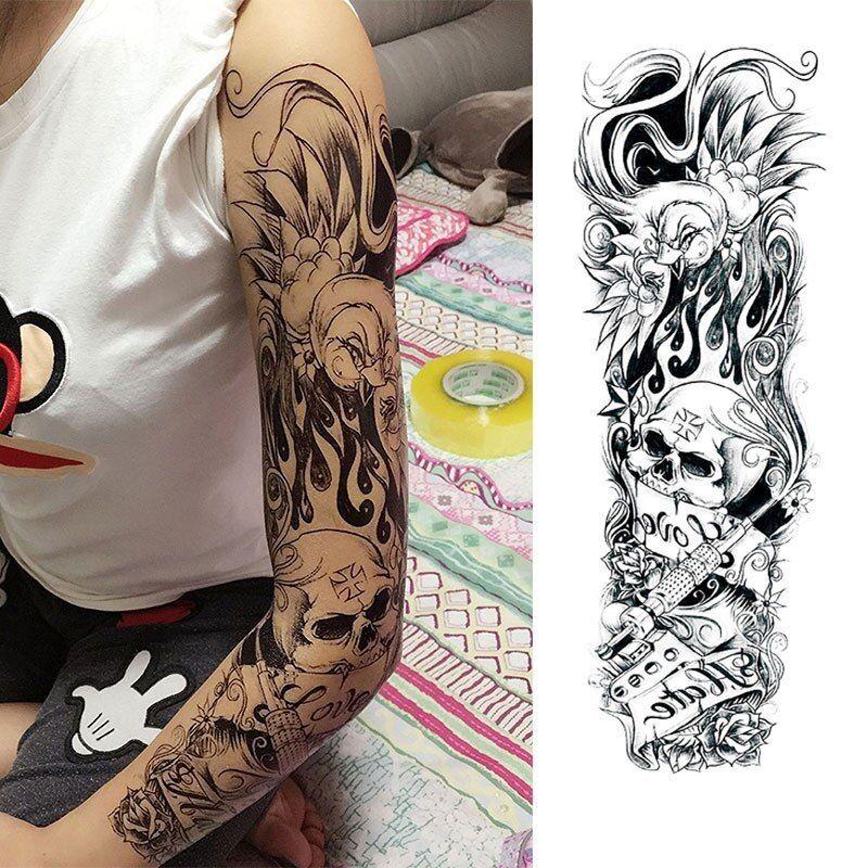 Edgy fake tattoo sleeve super cute gadgets fake
