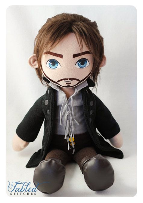 Sleepy Hollow Ichabod Crane Plush Doll