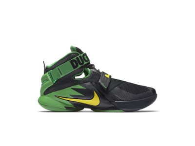 938a5e32e1ffd ... norway nike zoom lebron soldier 9 premium oregon mens basketball shoe  4d964 c0317