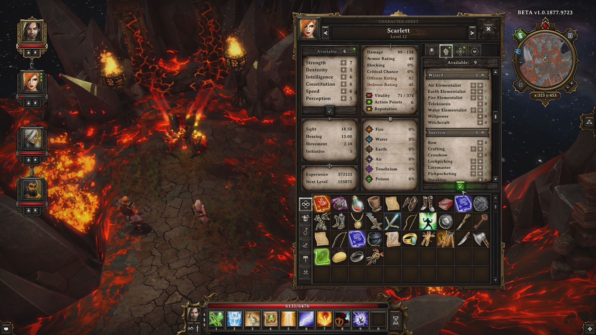 Pin by O C T on Game UI | Hard Core | Divinity original sin