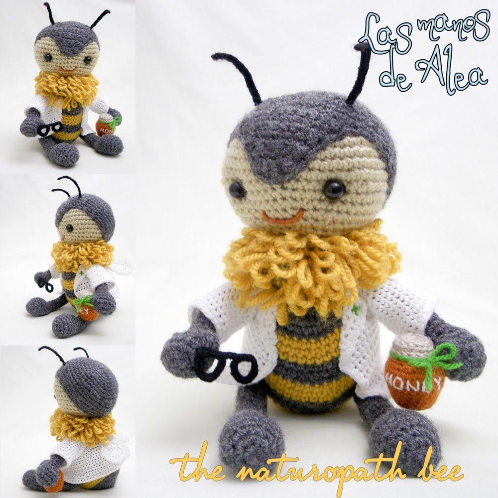 Las manos de Alea: Carmen, the naturopath bee - Carmen, la abejita ...