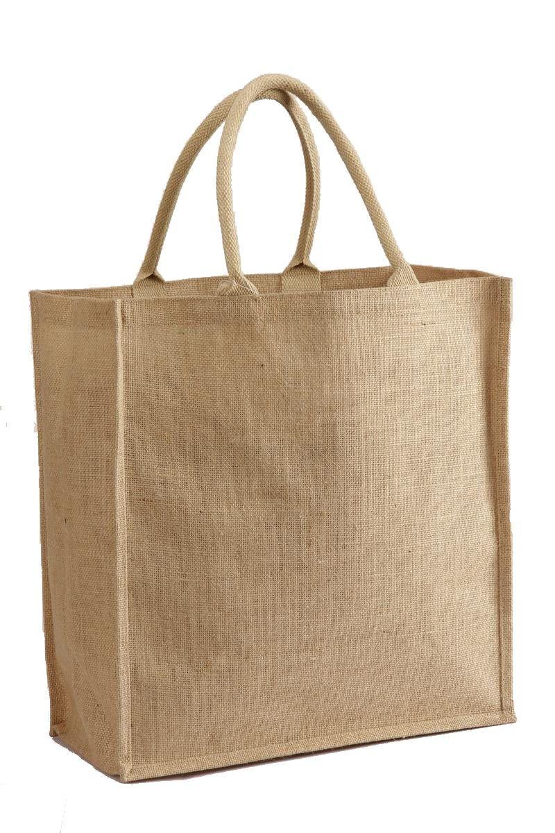 901e1e5da Everyday Shopper in Natural Jute/ Burlap Ecofriendly Tote Bags ...