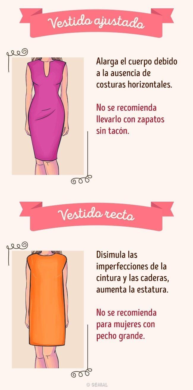 Cómo elegir el vestido ideal según tu tipo de figura | Pinterest ...