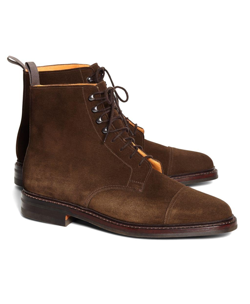 BANANA REPUBLIC MEN's Dress Shoes Cap TOE OXFORDS  US 8.5 M  (FB)
