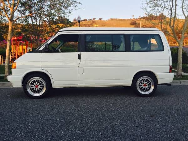 7e3ad934c5 Clean 5-Speed  1993 Volkswagen Eurovan Westfalia Weekender