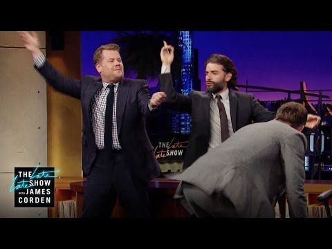Oscar Isaac on his disco moves! The Late Late Show with James Corden - YouTube