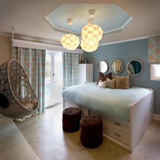die besten 25 modernes m dchenzimmer ideen auf pinterest teenagerzimmer teenager traum. Black Bedroom Furniture Sets. Home Design Ideas