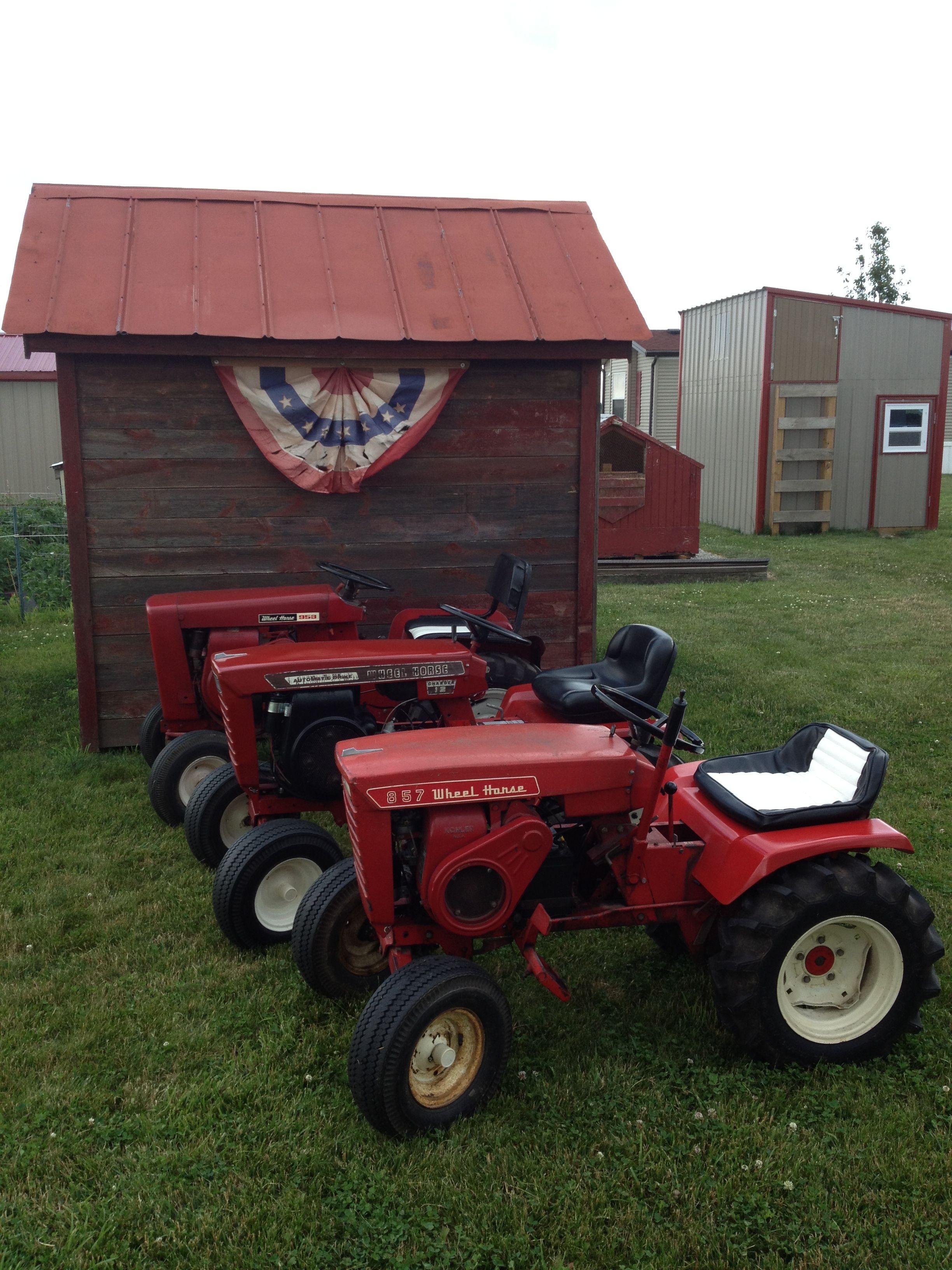 Today S Lineup Wheel Horse Tractor Lawn Tractor Garden Tractor