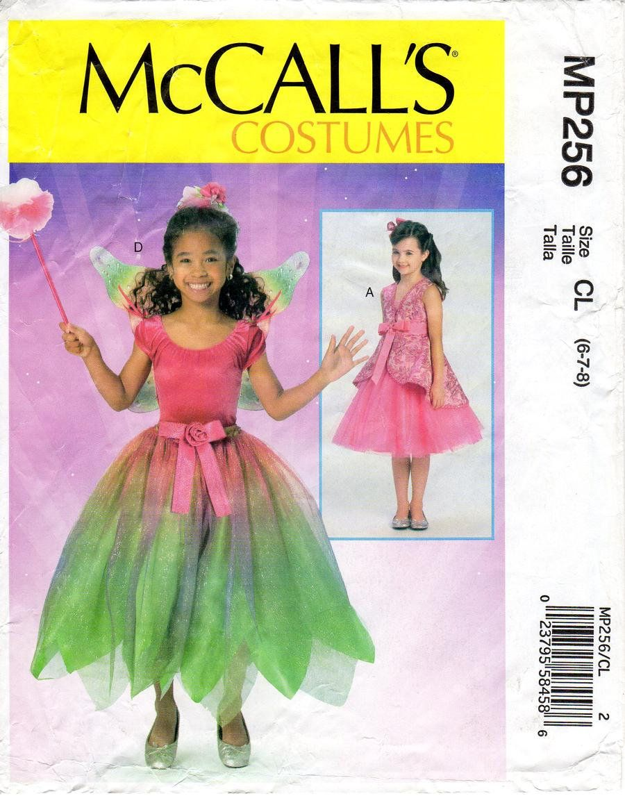 Mccall Patterns Halloween 2020 Sz 6/7/8 McCall's Costume Pattern MP256 Girl's | Etsy in 2020