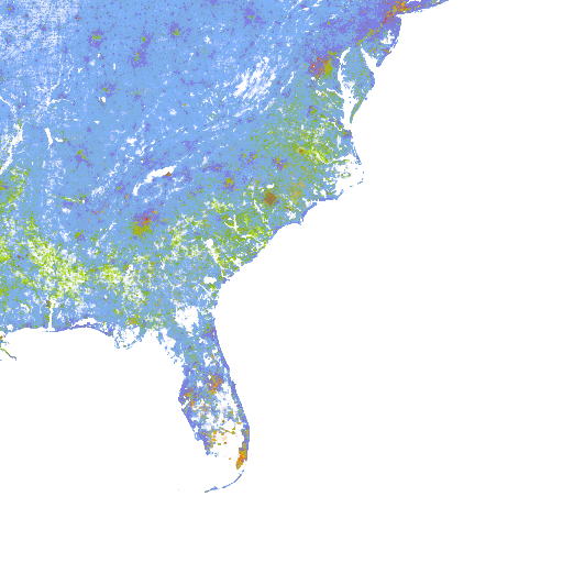The Racial Dot Map One Dot Per Person For The Entire U S Map Racial Information Visualization