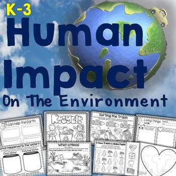 Human Impact on the Environment - Perfect for Earth Day!  #tpt #teacherspayteachers