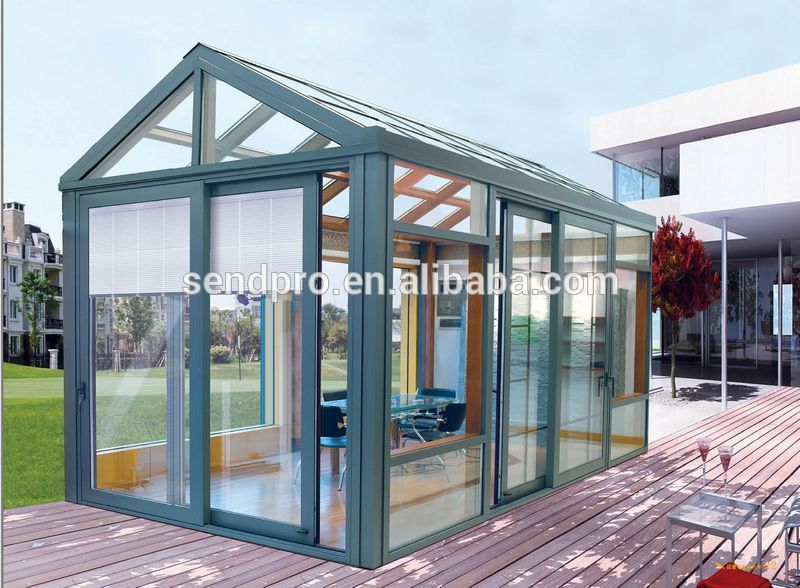 Thermal Break Aluminum Frame Double Glass Lowes Sunrooms Exterior