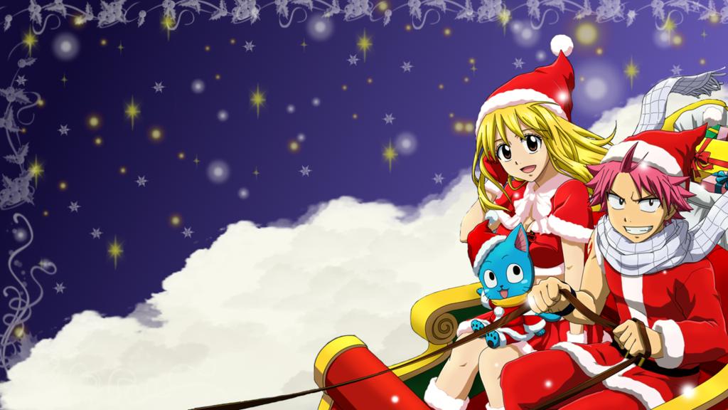 Wallpapers Anime Christmas Anime Christmas Anime Wallpaper Christmas Cover Photo
