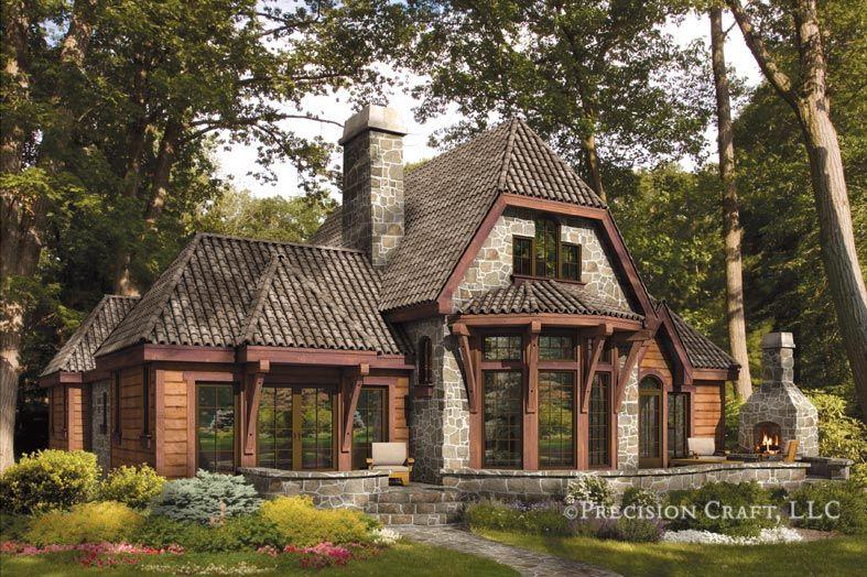 5 Fantastic French Country Log Homes Under $1M   Deco U0026 Bloom