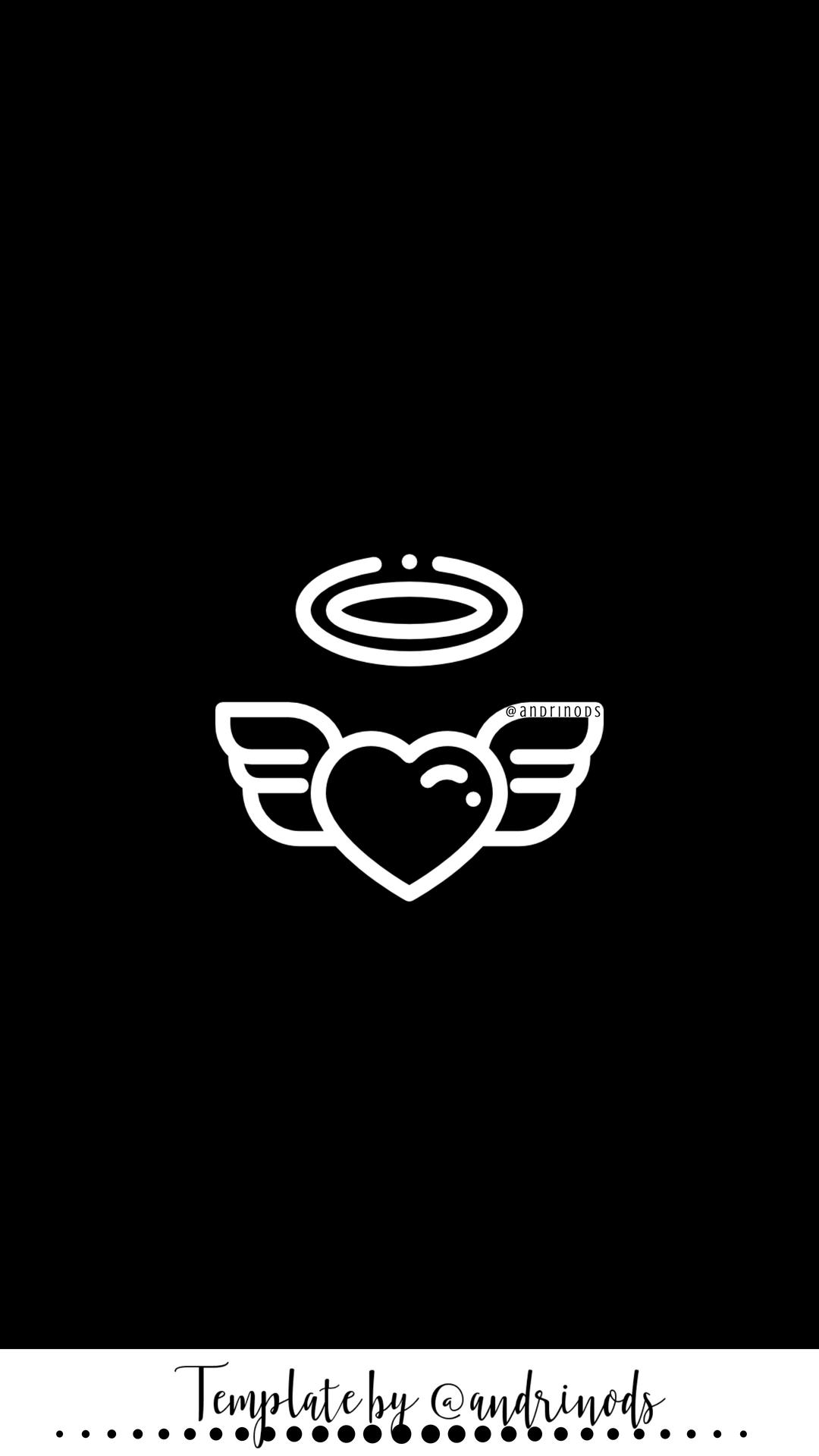 Black Anchor Wallpaper in 2020 Black and white instagram