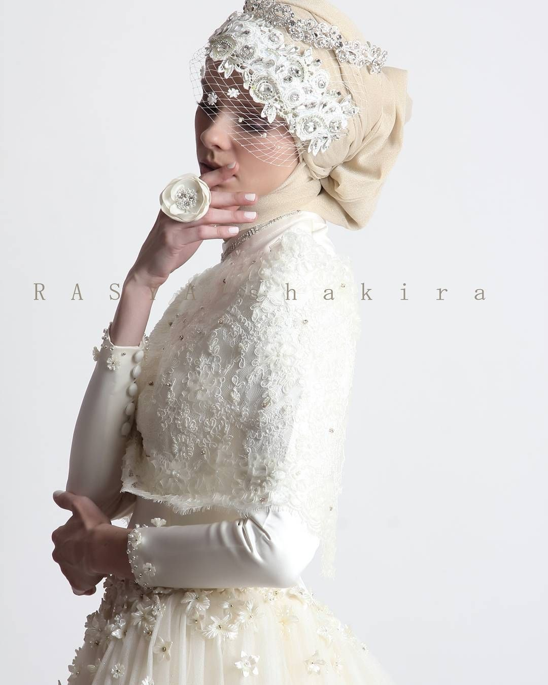 New Collection by Rasya Shakira - Weddingku  Muslimah wedding