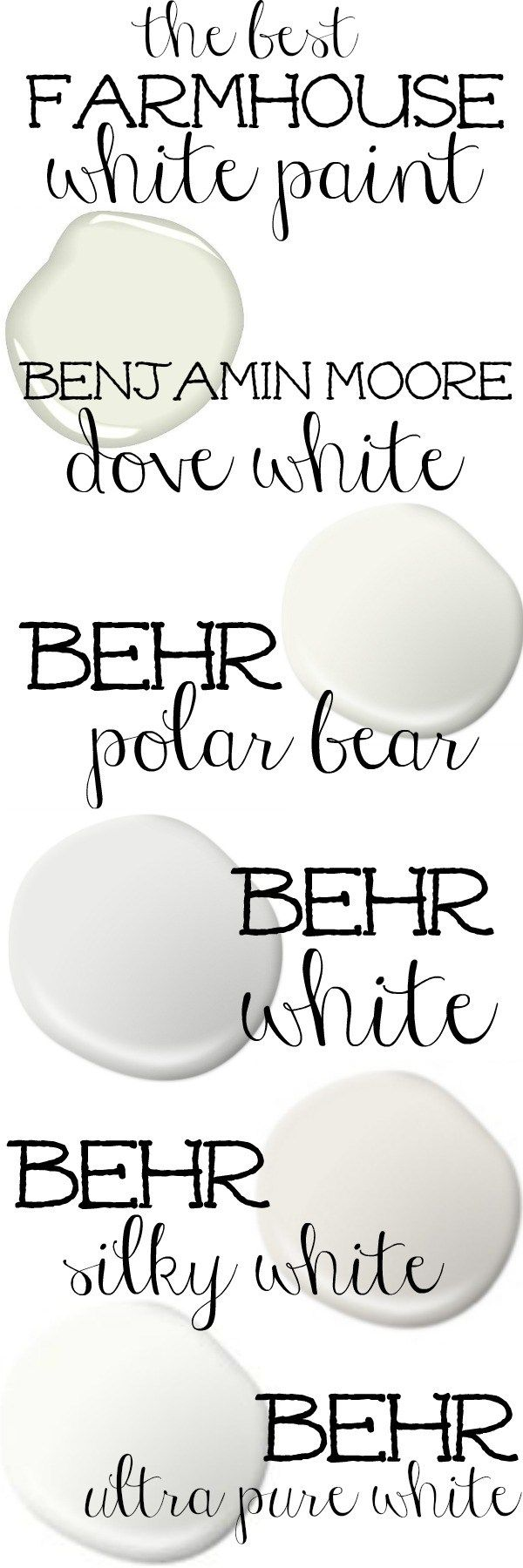 Pure white bathroom scheme everything is white at its finest - The Best White Paint Colors For A Farmhouse Exterior Great For Farmhouse Cottage Style