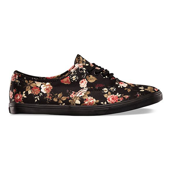 Authentic Lo Pro Floral | Shop Womens Shoes at Vans - Size 6.5 Mens or 8.0