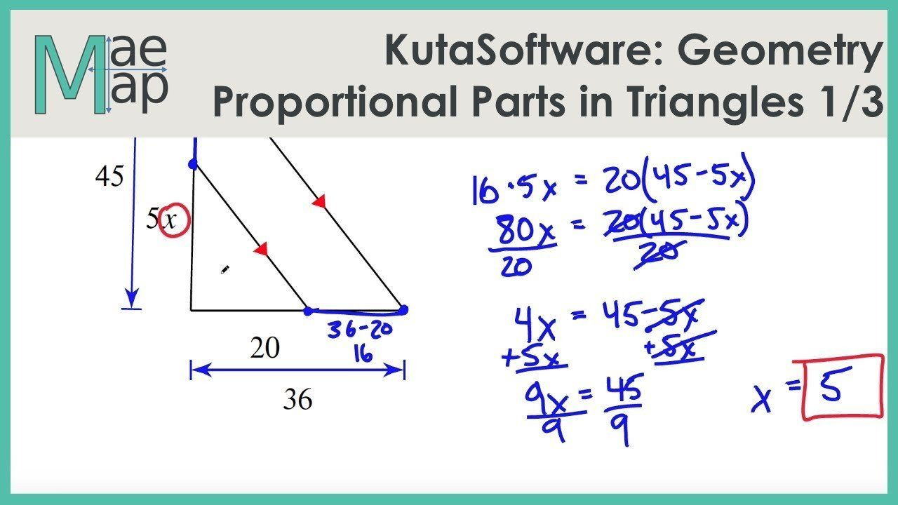 Similar Triangles Proportions Worksheet Kutasoftware Geometry Proportional Parts In Tr In 2020 Word Problem Worksheets Kids Worksheets Printables Systems Word Problems
