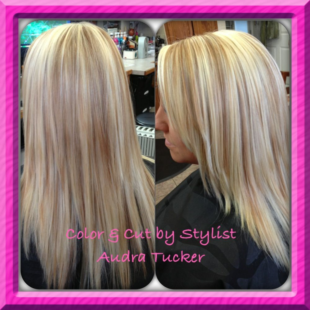 Ultra light blonde highlights w her natural strawberry blonde hair hair ultra light blonde highlights pmusecretfo Gallery