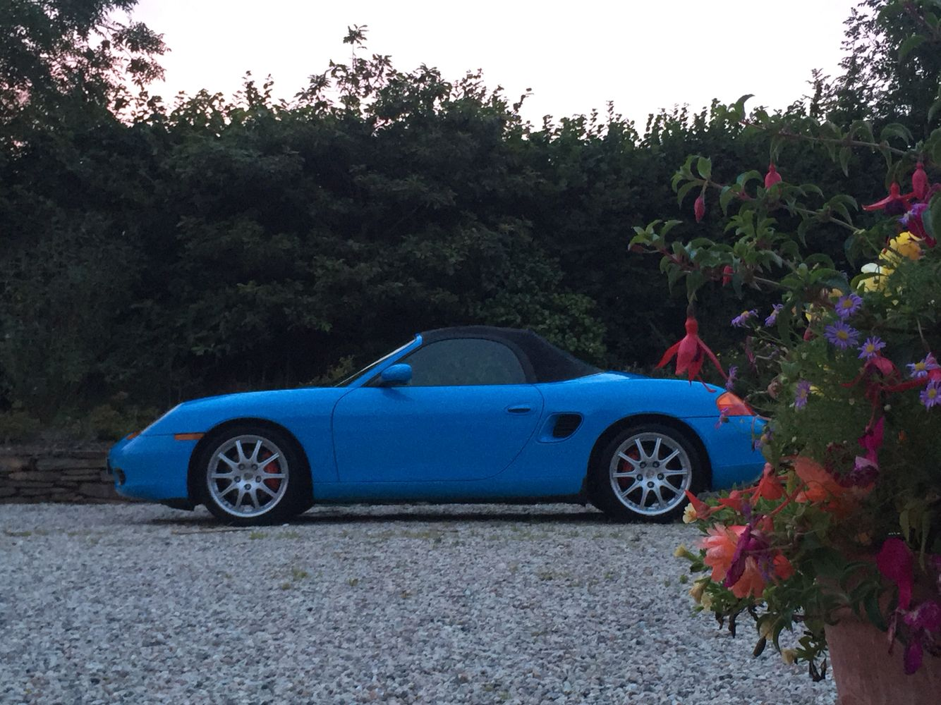 my own Porsche Boxster S 2002 in riviera blue are there any other? let me know