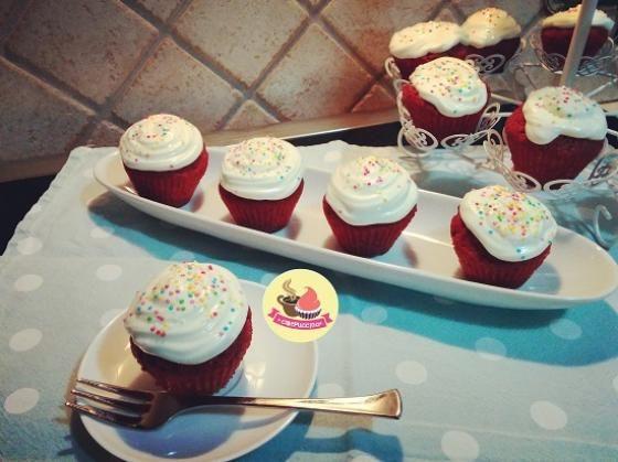 Ricetta Red Velvet Cupcakes  #ricette #food #recipes