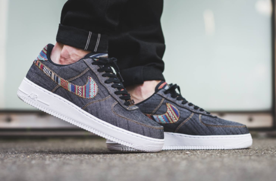 air force 1 denim