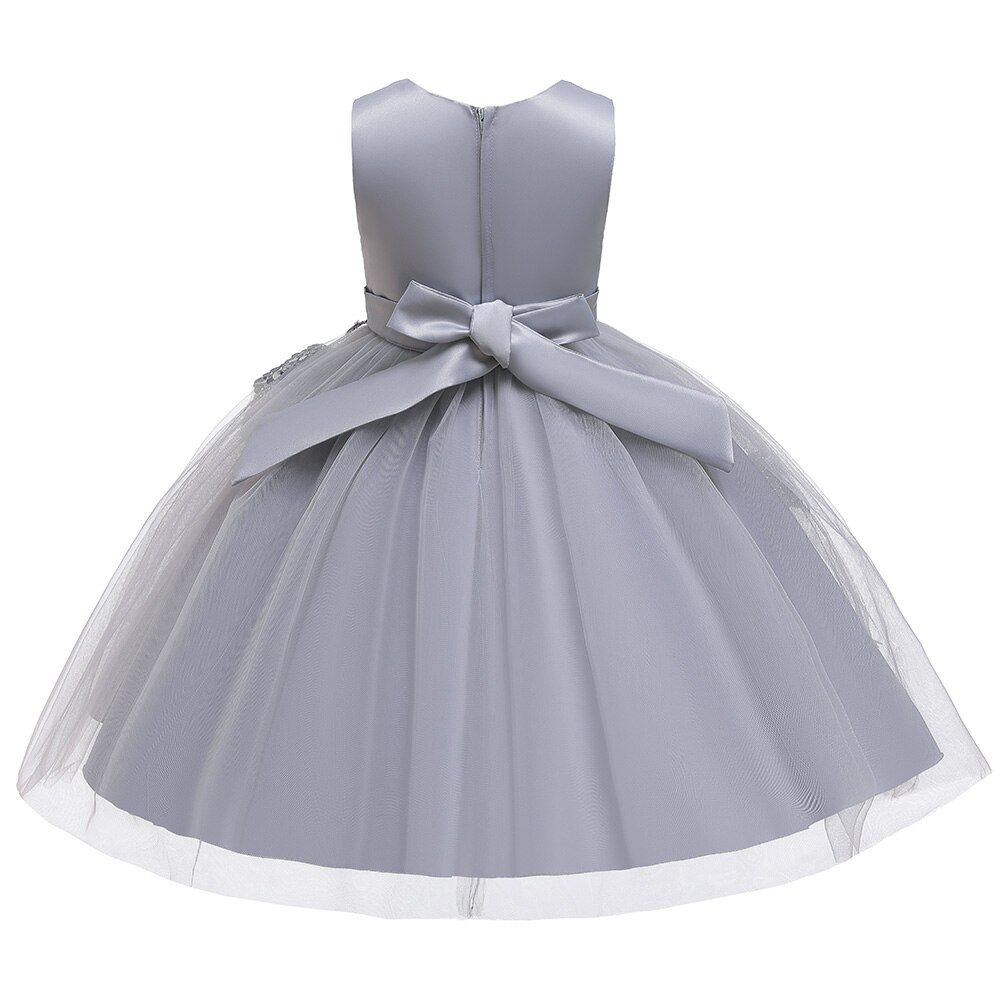 Hots Sale New Year Girls Dresses For Christmas Party,Baby Girls Layered Princess Dresses,Children Flowers TuTu Party Dress