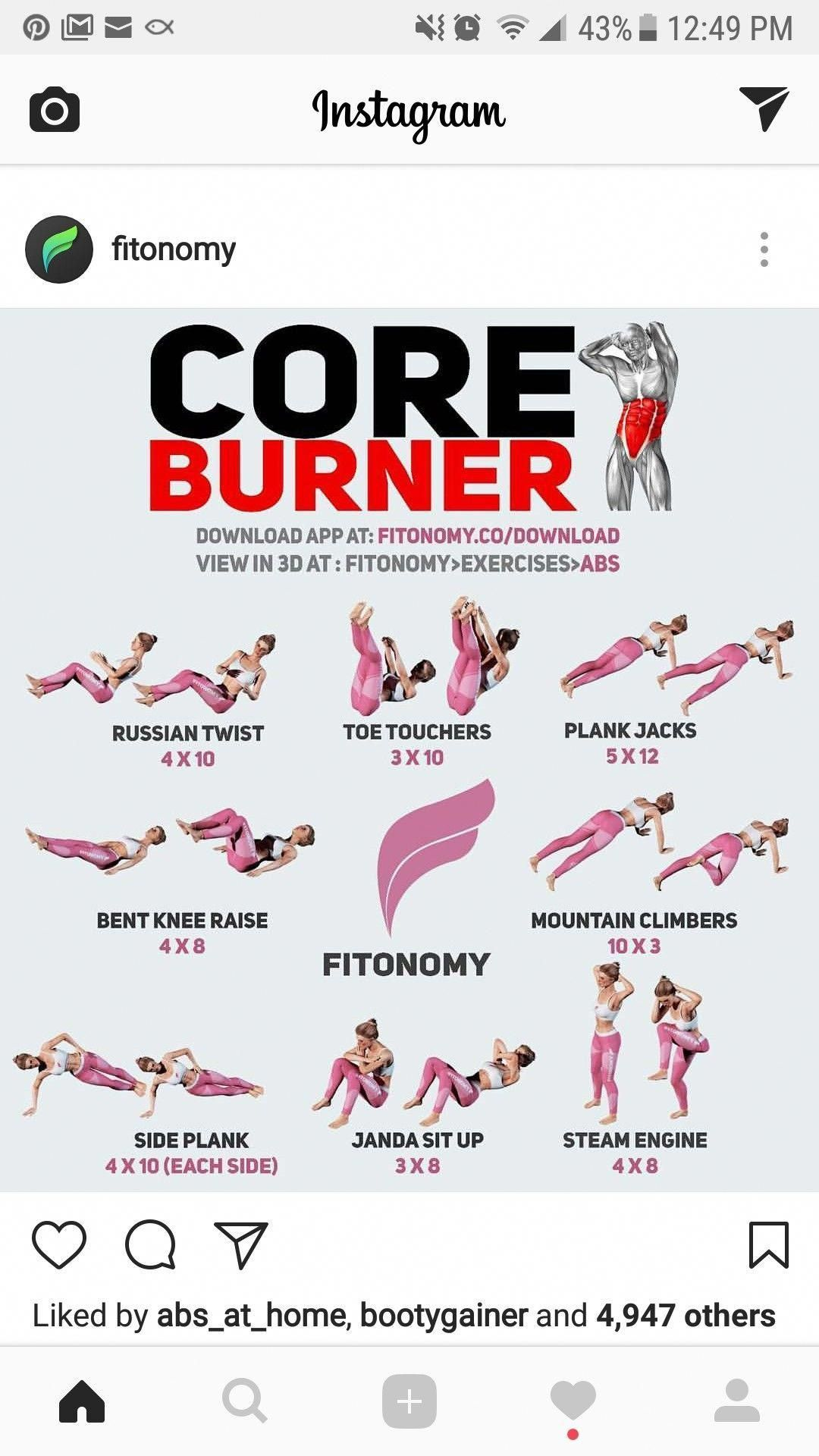 The Best Ab Workout: From Victoria Secrets Newest Angel