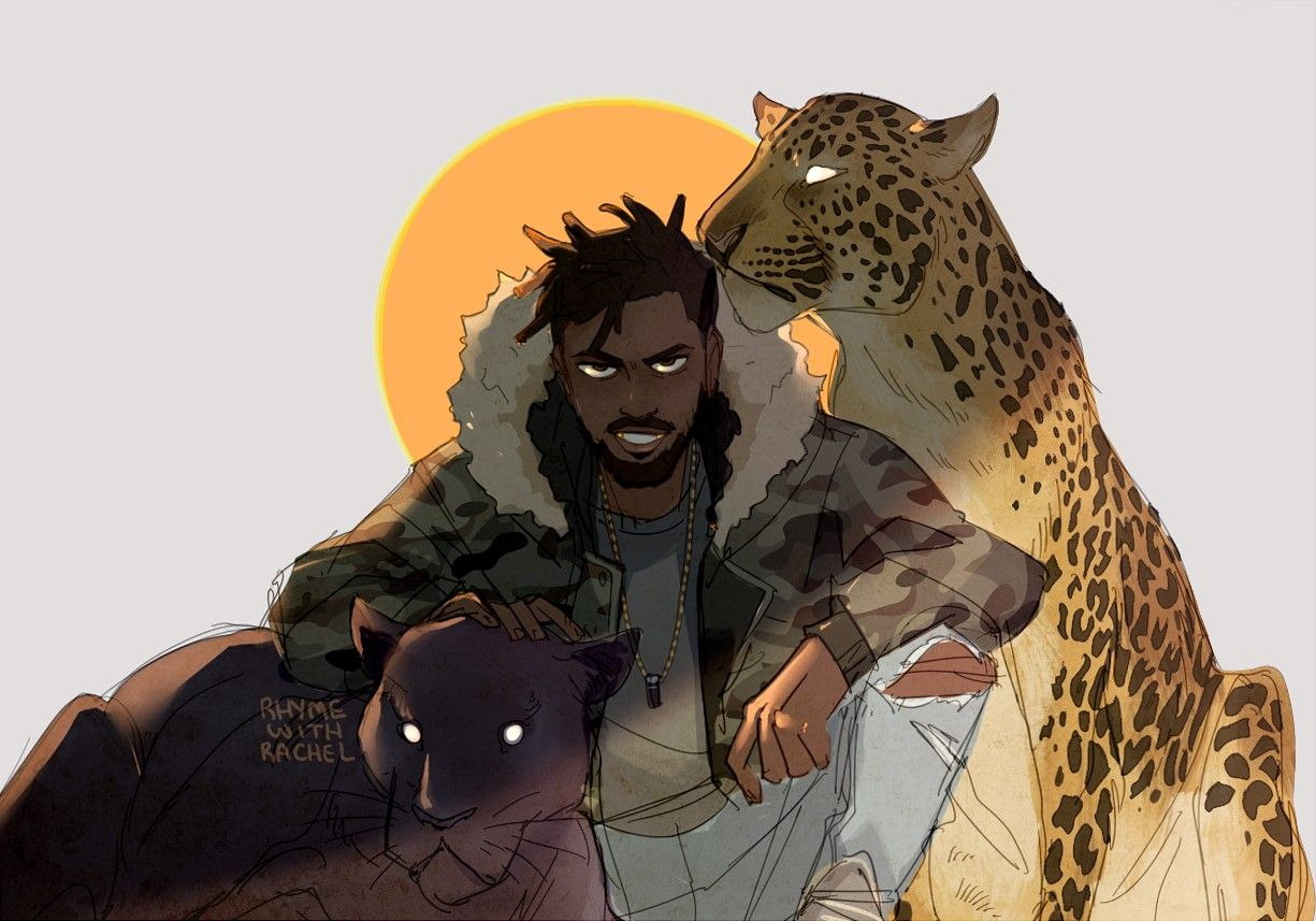 erik killmonger black panther art stuff i like pinterest black panther art black. Black Bedroom Furniture Sets. Home Design Ideas