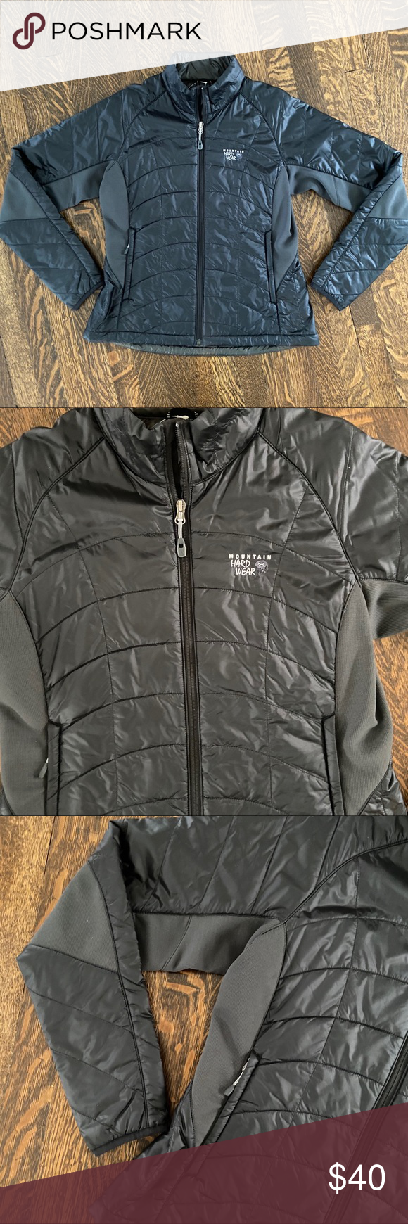 Women S Mountain Hardware Medium Black Jacket Excellent Condition Black Mountain Hardware Jacket Women S Size Medium Black Jacket Jackets Jackets For Women [ 1740 x 580 Pixel ]