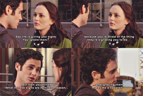 Blair and Dan as friends was brilliant