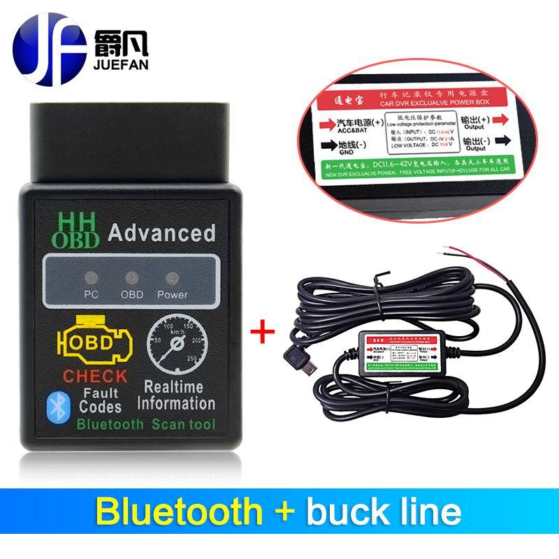 ELM327 Bluetooth diagnostic tool elm 327 version 1 5 / 2 1