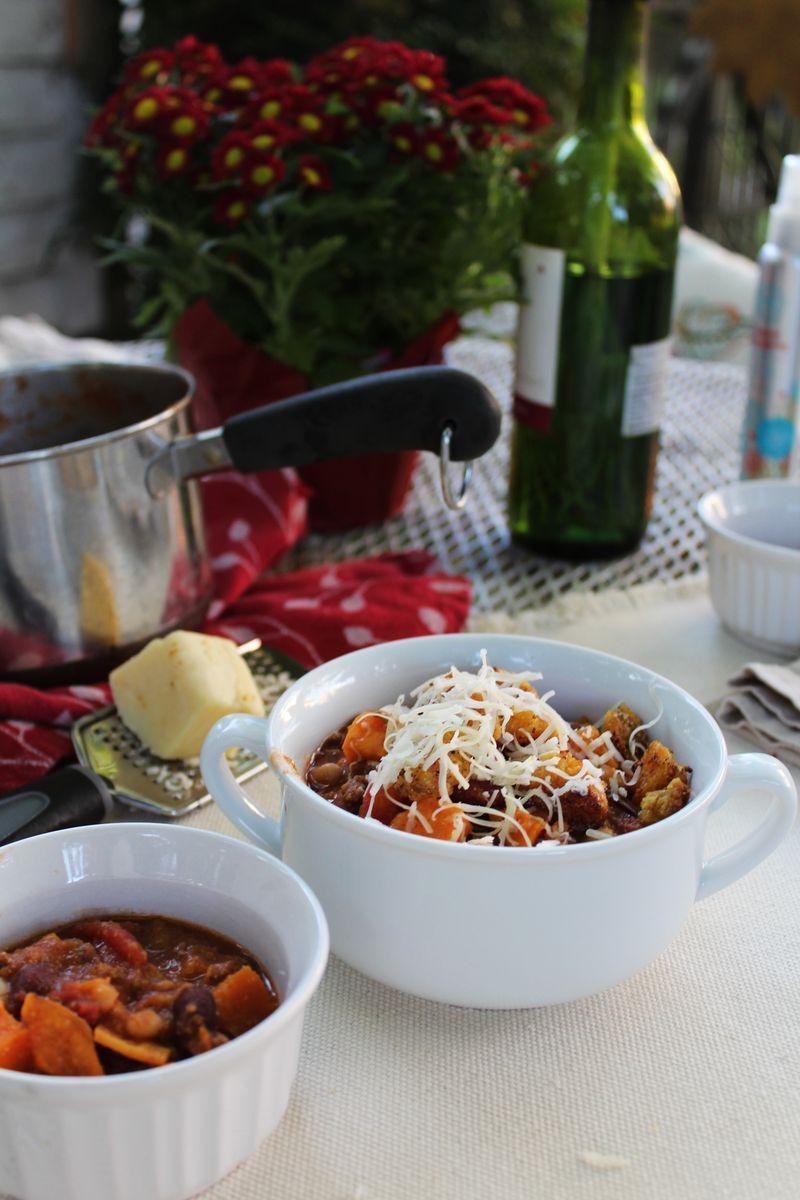 Festive Fall Chili Recipe On Food52 Recipe Chili Recipes Food 52 Recipes