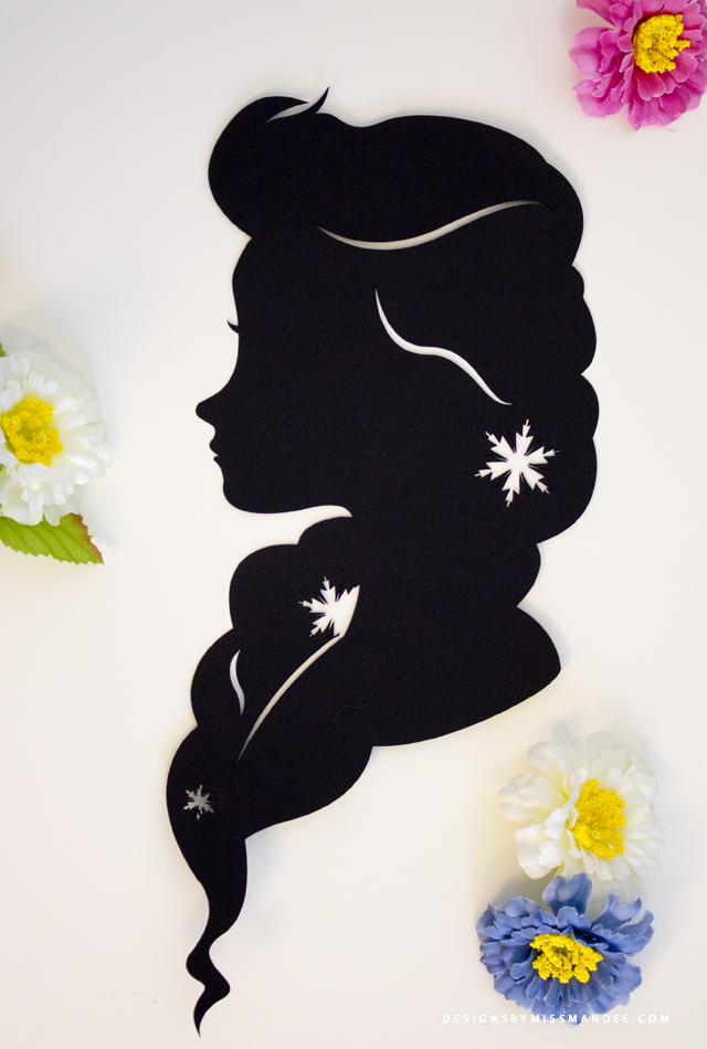 Disney Princess Silhouettes v.2 Disney Princess Silhouettes v.2 - Designs By Miss Mandee. The second installment in a growing collection. This set includes Elsa, Mulan, Anna, Rapunzel, Esmerelda, & Alice. Download the printable and SVG cut files for FREE!